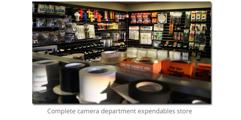 Stratton Camera Expendables store